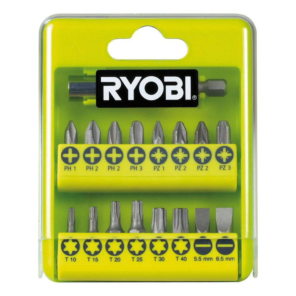 Набор RYOBI RAK17SD биты