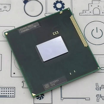New. Процессор Intel SNB B940 2.0G 2M Q0 PGA CPU