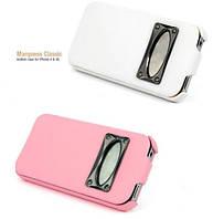 Чехол для iPhone 4/4S - HOCO Marquess classic leather case