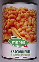 Квасоля Marea біла в томатному соусі (Baked Beans brix 10/11) 400 г