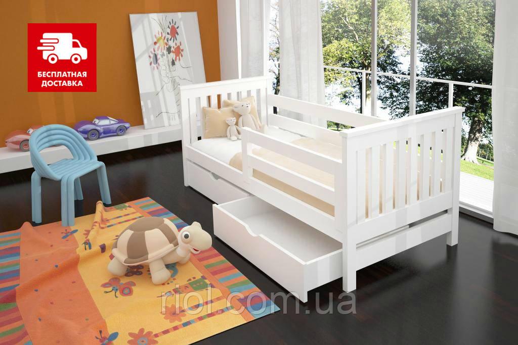 Детская кровать из натурального бука Адель ТМ Луна
