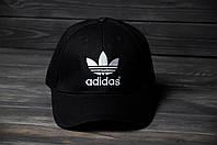 Кепка Бейсболка Adidas летняя шестиклинка стильная черная