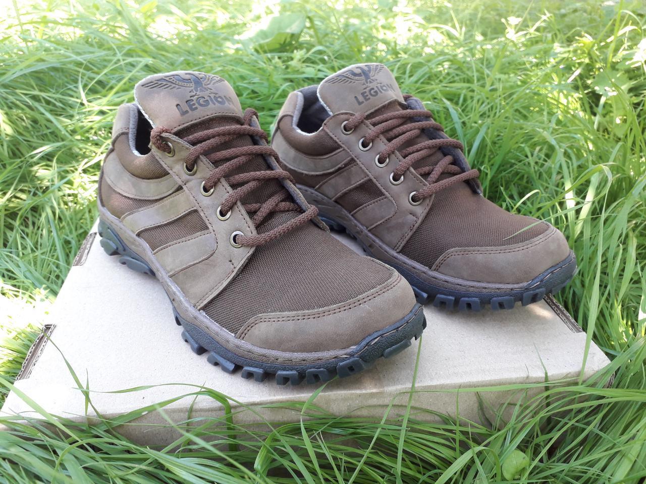 Тактические кроссовки Легион коричневые
