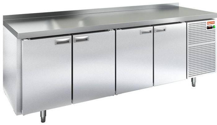 Стол холодильный 4 двери  2320Х700Х850 TEHMA 9688