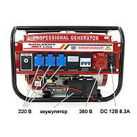 Генератор бензиновий 3-х фазний