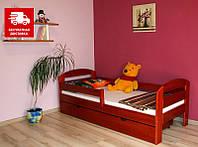 Детская кровать из натурального бука Винни ТМ Луна