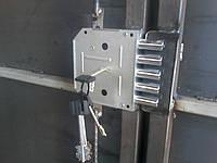 Врезка замка в ворота