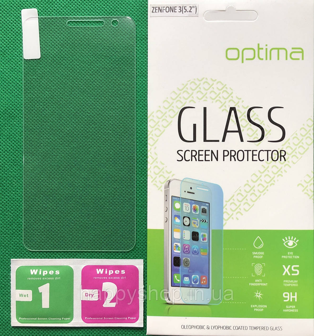 "Защитное стекло Asus Zenfone 3 (5.2"" ZE520KL)"