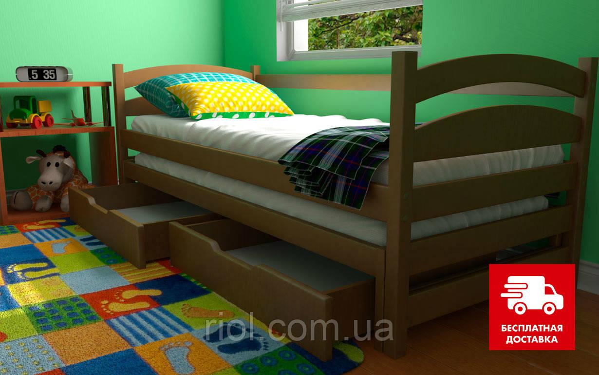 Детская кровать из натурального бука Бонни ТМ Луна