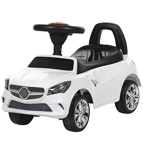 Толокар Mercedes 3147C-1 Білий, музика, MP3, світло фар