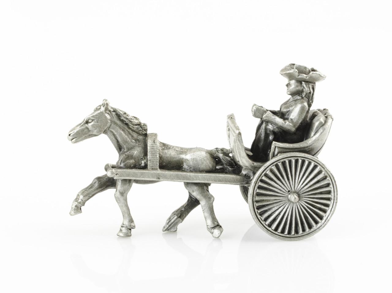 Скульптура, миниатюра, повозка, олово,  Германия