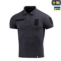 Поло тактическое термо M-Tac Polyester dark navy blue, фото 1