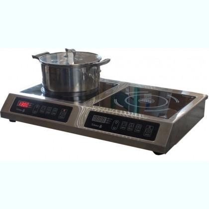 Плита индукционная 2х конфорочная 2,8 кВт настольная Tehma