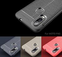 TPU чехол накладка Tiger для Motorola One Vision (4 цвета)