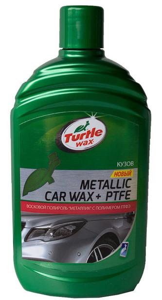 Поліроль для покриття металік PTFE з тефлоном 500мл Turtle wax 53020