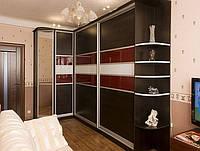 угловой шкаф купе в гостиную на заказ фото 31