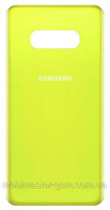 Задняя крышка Samsung G970F Galaxy S10E Canary yellow, фото 2