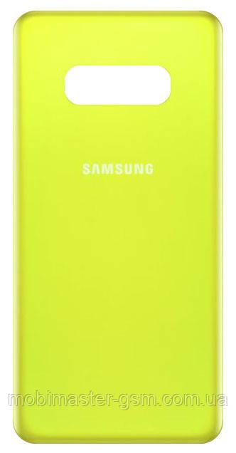 Задняя крышка Samsung G970F Galaxy S10E Canary yellow