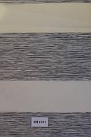 Рулонные шторы день-ночь серые ВМ-1501