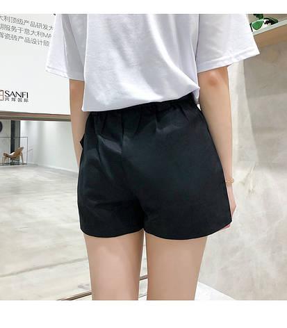 Женские шорты Карго Фабричный Китай Черный, M, фото 2