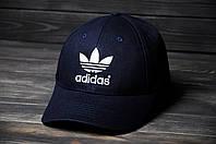 Кепка Бейсболка Adidas летняя шестиклинка стильная синяя