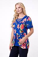 Трикотажна жіноча блуза з масла, фото 1