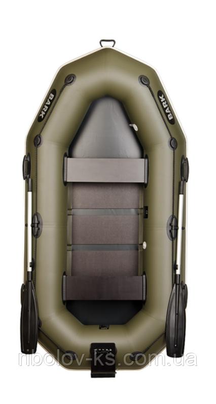 Двухместная надувная гребная лодка Bark В-260NP