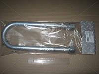 ⭐⭐⭐⭐⭐ Стремянка рессоры 100x24x320 BPW ( оцинкованная , с гайкой и гровером, резьба М24х2,0) (RIDER, стандарт)  RD 10024320-24-2