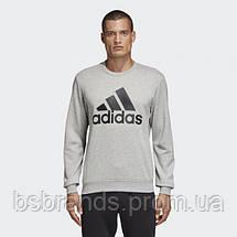 Мужской джемпер adidas MUST HAVES BOS (АРТИКУЛ: DT9937), фото 3