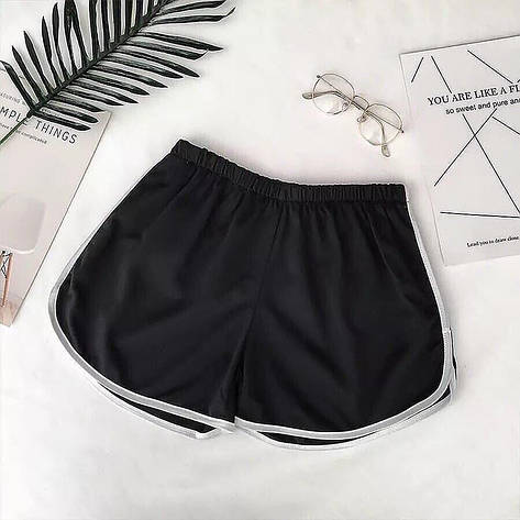 Женские летние шорты Фабричный Китай Черный, Единый, фото 2