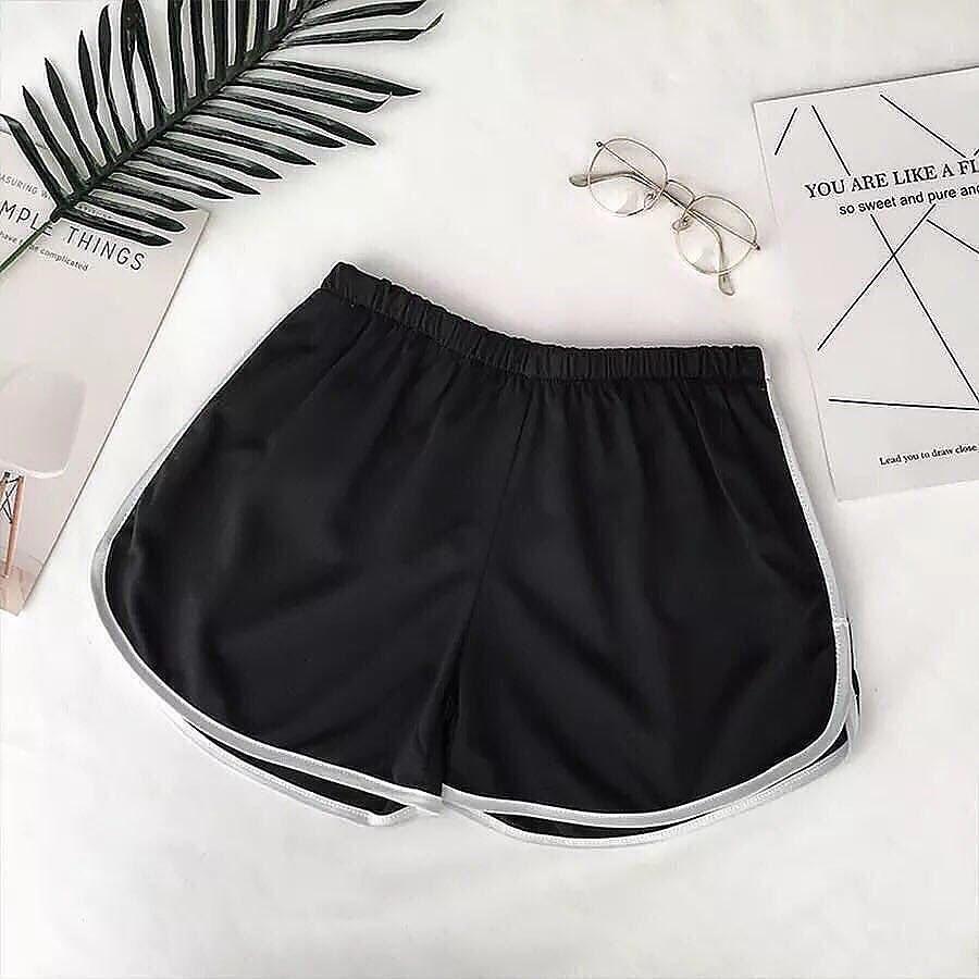 Женские летние шорты Фабричный Китай Черный, Единый