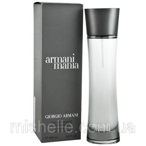 Мужская туалетная вода Giorgio Armani Mania Pour Homme (Джорджио Армани Мания Пур Хомм)