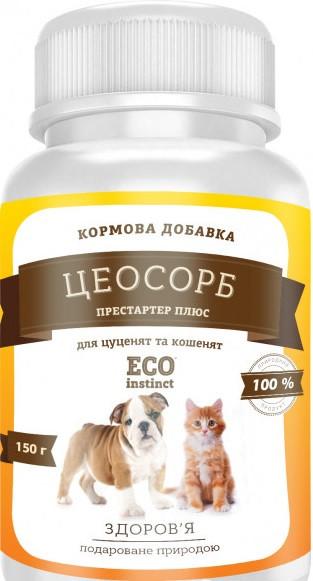 ЦЕОСОРБ ПРЕСТАРТЕР ПЛЮС помощь при переходе с подсосного кормления для щенков котят, 150 гр