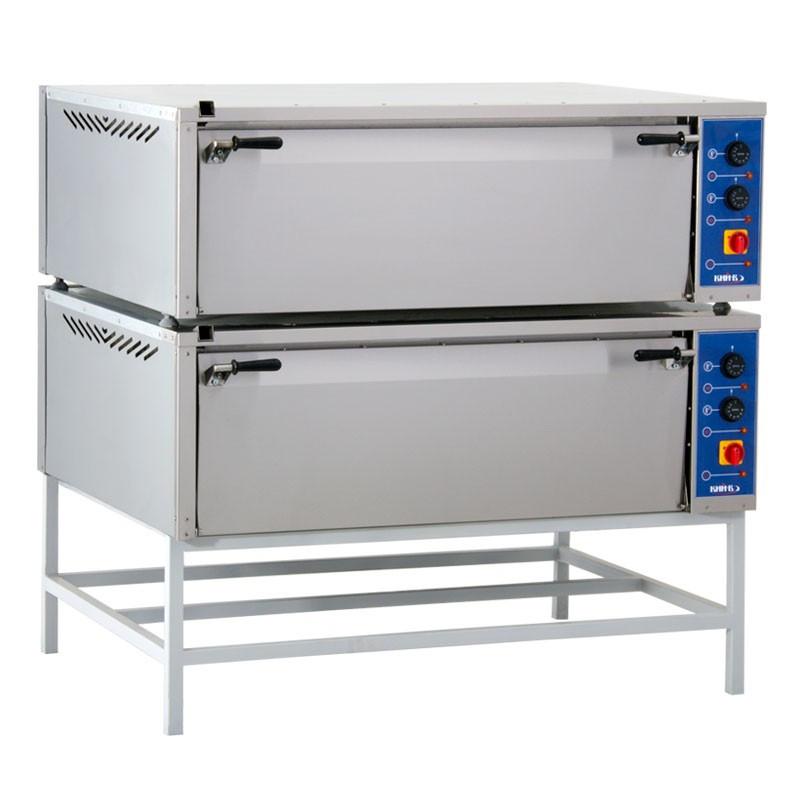 Шкаф пекарский  две секции  с 2 конвекциями  ШП-2-2К