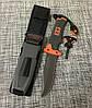 Нож для выживания, туристический Gerber Bear Grylls Replica BG-210 в чехле с огнивом и свистком