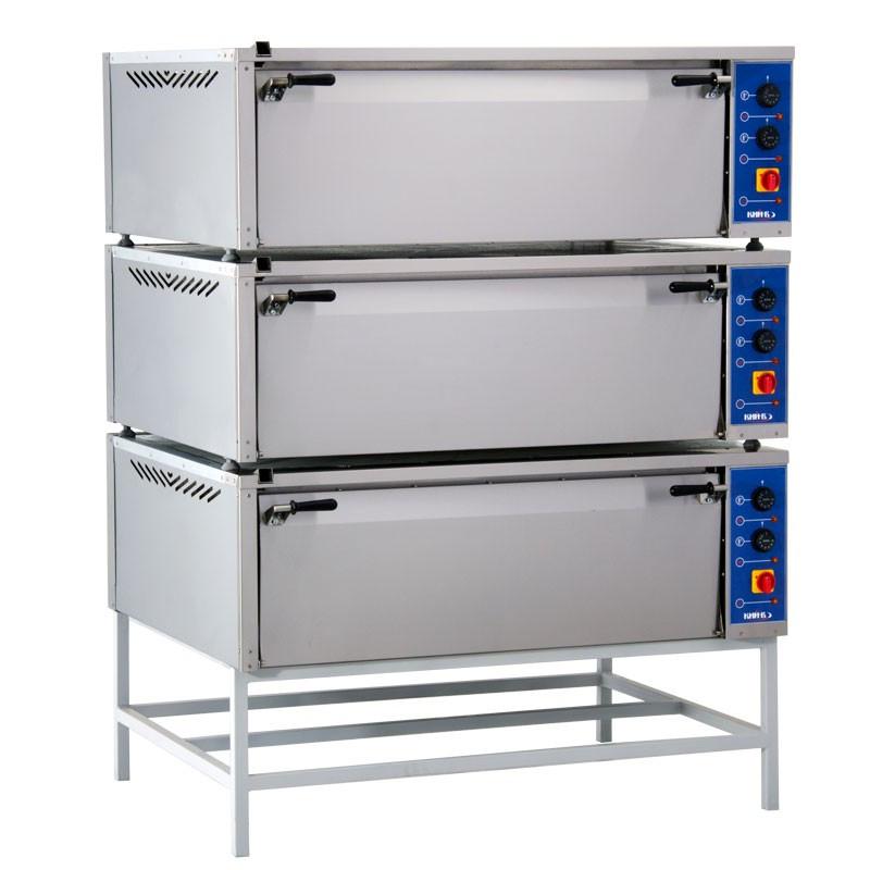 Шкаф пекарский  три секции  с 1 конвекцией  ШП-3-К
