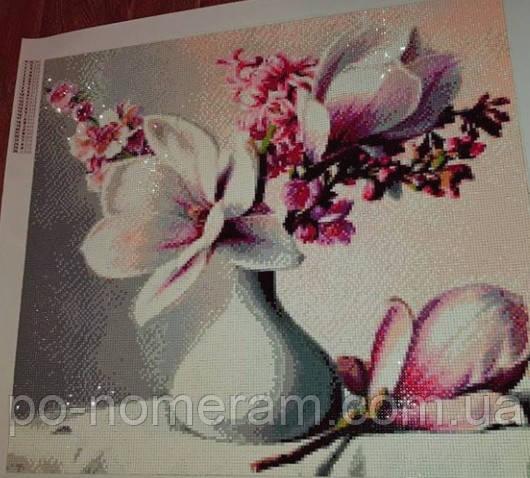 алмазная мозаика фото готовой работы орхидея