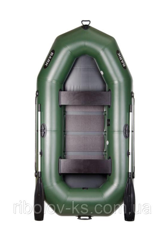 Двухместная надувная гребная лодка Bark В-270