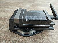 Тиски  станочные поворотные 125 мм, фото 1