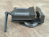 Тиски  станочные поворотные 125 мм, фото 3