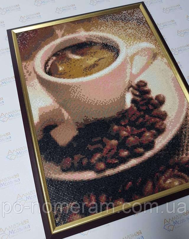готовая алмазная мозаика чашка кофе фото