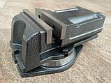 Тиски  станочные поворотные 125 мм, фото 4