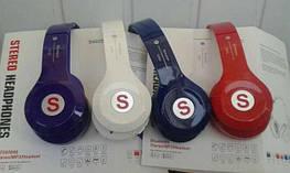 Bluetooth-навушники S460S Синій