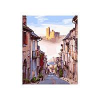 Картина по номерам Улочка старого Города 40х50 см