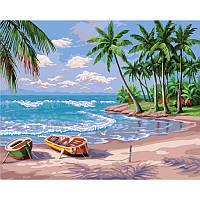Картина по номерам Побережье океана 40х50 см