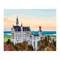 Картина по номерам Замок Нойшванштайн 40х50 см
