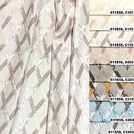 Ткань для  штор портьерная, Коллекция 1, 611858.