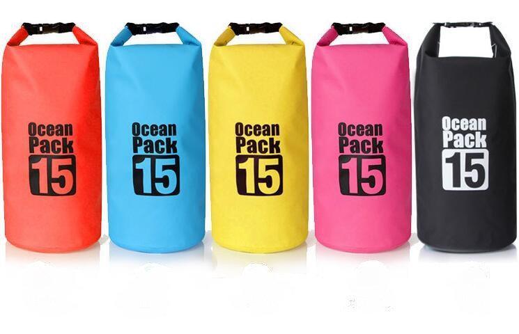 Водонепроницаемая сумка рюкзак OCEAN PACK 15 L