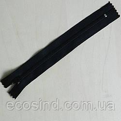 Молния брючная 18 см, черная