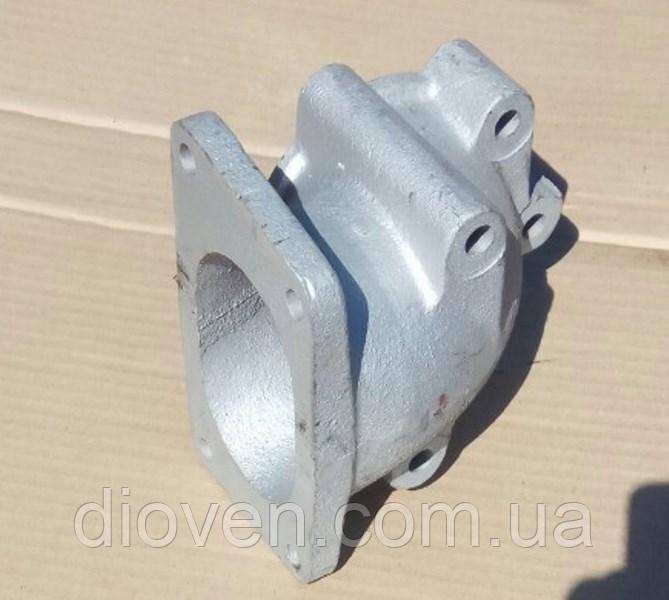 Патрубок передний (под малую ромашку 5 отв. /трапеция, турбина ТКР-12, К-36) КРАЗ (Арт. 643706-1203035)